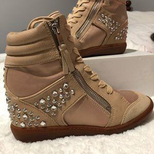 Aldo Wedge Heel Sneakers
